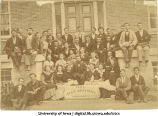 Sophomore class photo, The University of Iowa, 1874