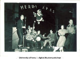 Christmas dance party, The University of Iowa, 1940s