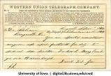 Bean family letters, 1862-1863