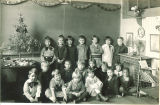 University Elementary School class, The University of Iowa, 1927