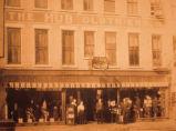 The Hub Clothing Store in Oskaloosa, Iowa, Circa 1900