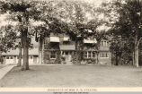 37th Street, Mrs. N. M. Strauss Residence