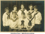 1918 softball team, The University of Iowa, 1918
