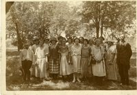 Fourth of July Singing Group 1923