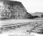 New workings in quarry in Upper Coal Measures, Earlham, Iowa, late 1890s or early 1900s