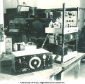 WSUI radio equipment, The University of Iowa, 1930s