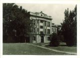 View of Biology Annex from southwest, The University of Iowa, August 1935