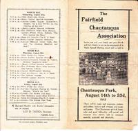 Chautauqua brochure