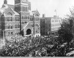 33rd Iowa Regiment Reunion and Parade; September 17, 1913, Oskaloosa, Iowa; Mahaska County