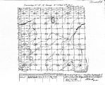 Iowa land survey map of t097n, r009w