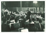 University band concert, The University of Iowa, 1930s
