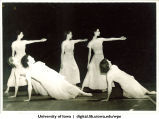 Dance performance, The University of Iowa, 1938