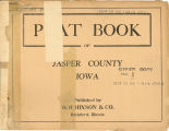 Plat book of Jasper County, Iowa