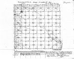 Iowa land survey map of t070n, r023w