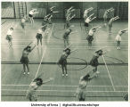 Women's physical education, The University of Iowa, 1950s