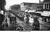 Parade on North Federal Avenue