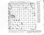 Iowa land survey map of t099n, r022w