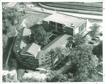 Aerial view of Law Commons, the University of Iowa, 1960s?