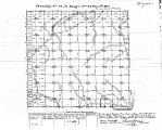 Iowa land survey map of t070n, r022w