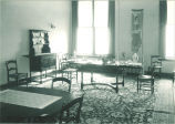 Dining room set, The University of Iowa, 1920s