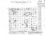 Iowa land survey map of t100n, r022w