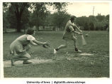Softball players, The University of Iowa, 1920s
