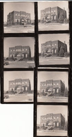 005. Seven prints of Fairfield Public Library in Fairfield, Iowa after 1966 remodeling