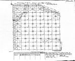 Iowa land survey map of t098n, r003w