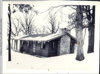 "The cabin, ""Marvin Gardens"", at winter time"