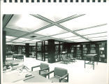 Special Collections reading room in Main Library, the University of Iowa, 1972