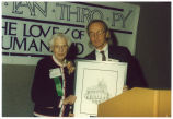 Louise Noun and David Hurd, Philanthropy Day, November 22, 1996
