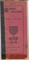 1909 Fairfield Chautauqua program