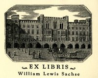 William Lewis Sachse Bookplate