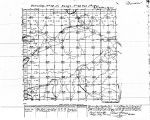 Iowa land survey map of t074n, r022w