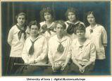 1916 softball team, The University of Iowa, 1916