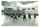 Women's wand class in Halsey Hall, The University of Iowa, April 14, 1920