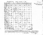 Iowa land survey map of t071n, r006w