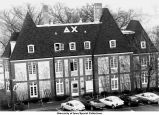 Delta Chi Fraternity house, Iowa City, Iowa, ca. 1980