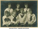1917 softball team, The University of Iowa, 1917
