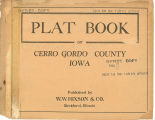 Plat book of Cerro Gordo County, Iowa