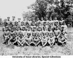 University of Iowa cadets at summer camp, Fort Snelling, Minn., 1924