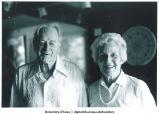 Paul Engle with Mary Louise Smith and Ed Ferreter, Iowa City, Iowa, July 1988