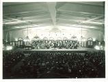 Orchestra concert in Iowa Memorial Union, The University of Iowa, 1930s