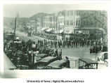 Celebration of Iowa football victory over Yale,  The University of Iowa, October 14, 1922