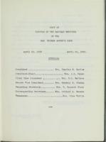0133 Des Moines Women's Club Minutes 1962-1964