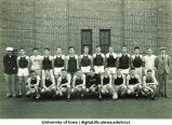 Track and field freshman squad, The University of Iowa, May 1939
