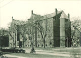 East Hall Annex, home of the Electrical Engineering Dept., The University of Iowa, March 1930