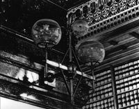 Law Library gas light