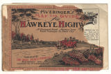 Huebinger's map and guide for Hawkeye Highway: Sioux City to Dubuque