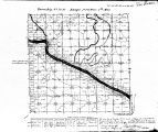 Iowa land survey map of t070n, r011w